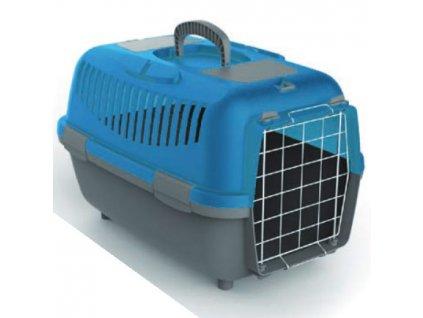 Přepravka pro psy NOMADE 2 LUX modrá