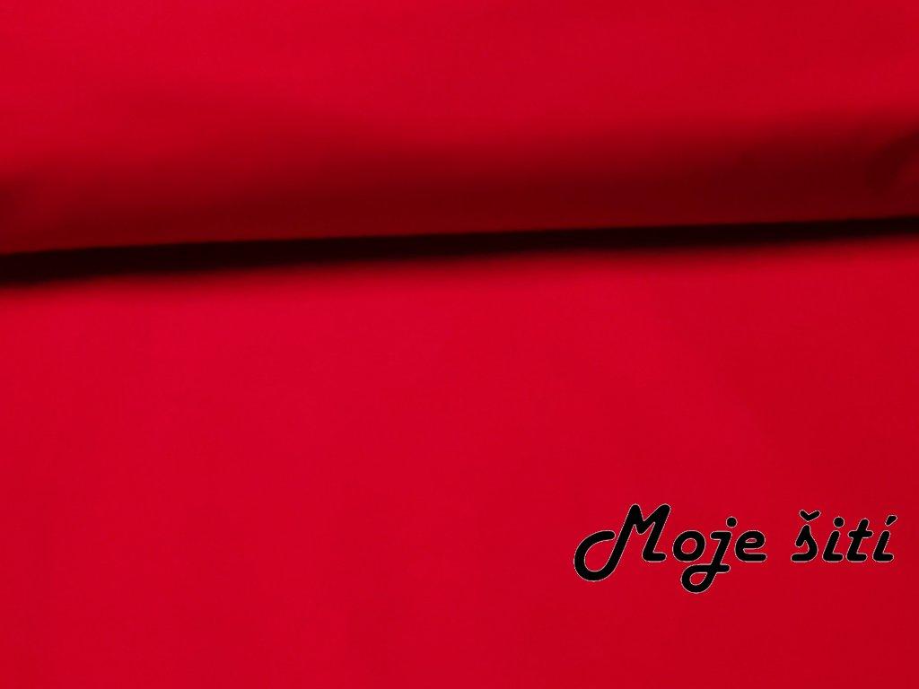 Bavlněné plátno Červené