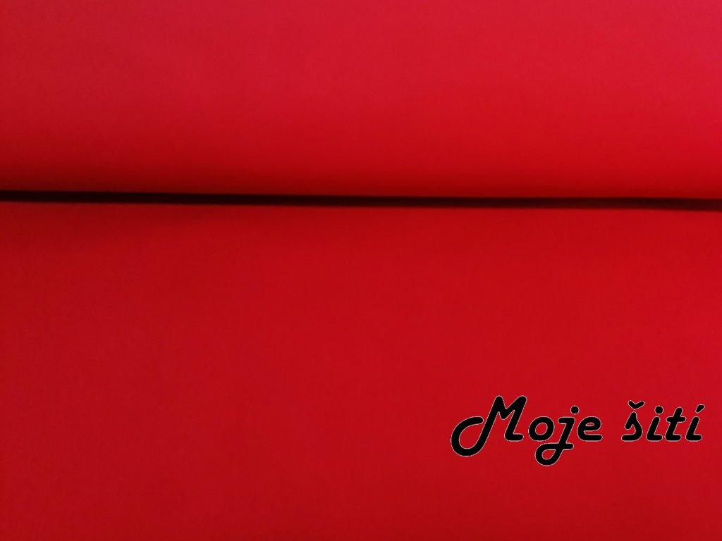 Zimní softshell Červený