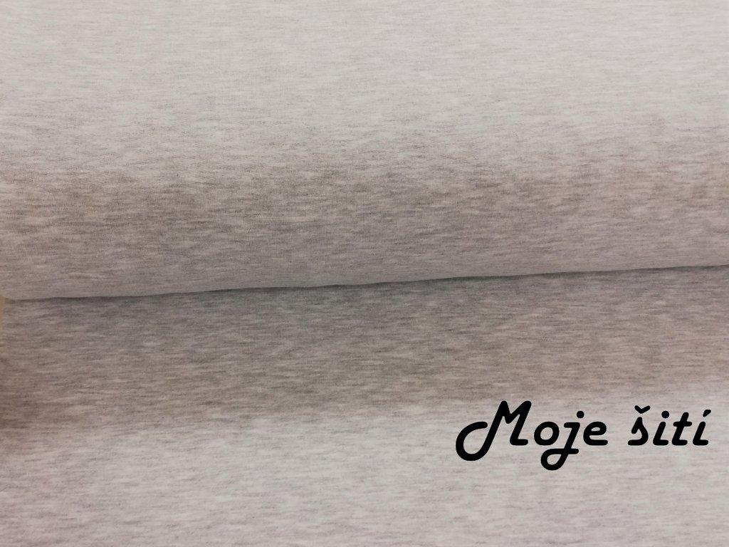 počesaná tepl světle šedý melír (3)