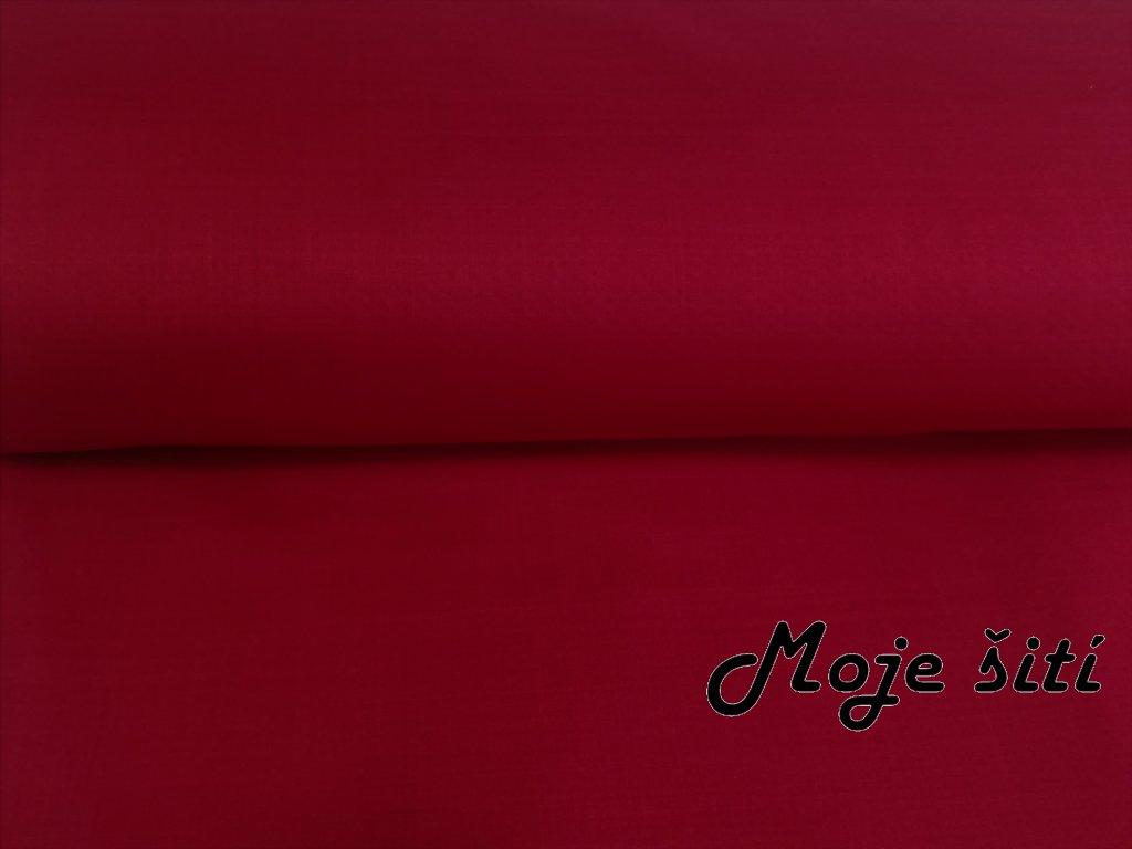 jarní softshell červený melír (3)