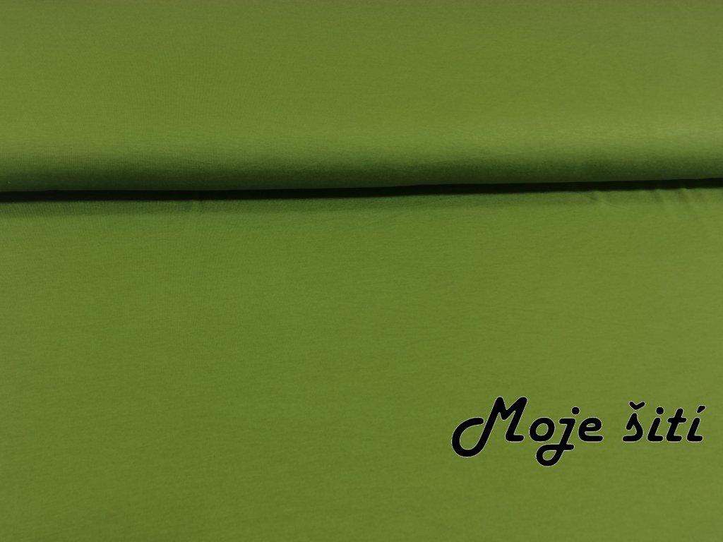 viskozový úlet olivový