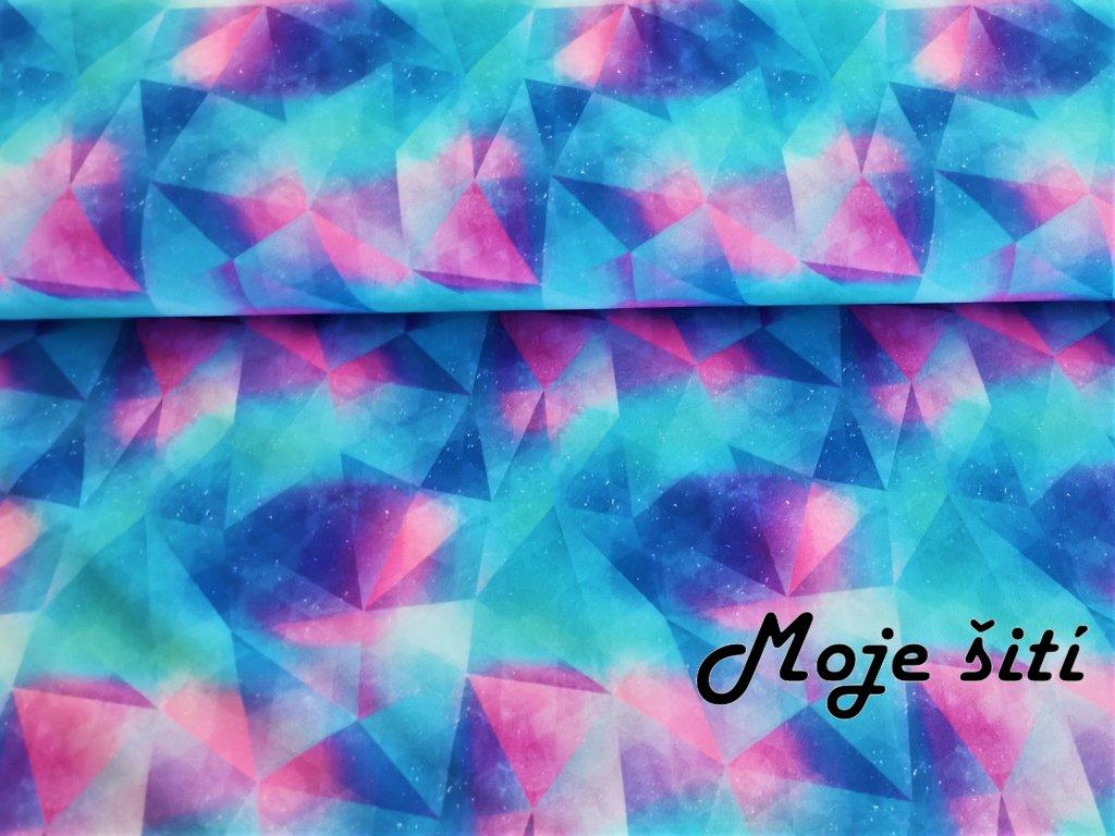 Akvarelové trojúhelníky