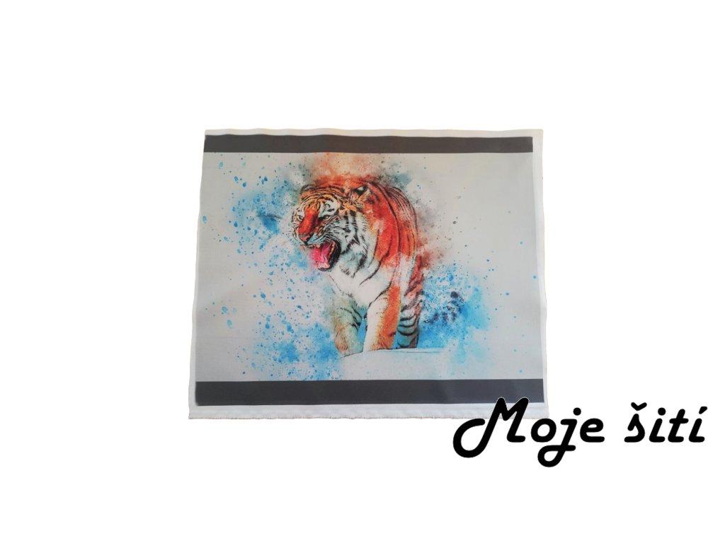 panel kocarkovina tygr hlavni