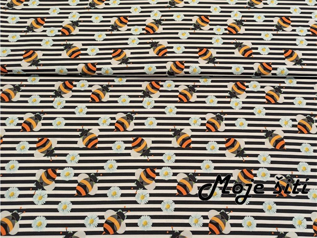 Včelky a sedmikrásky