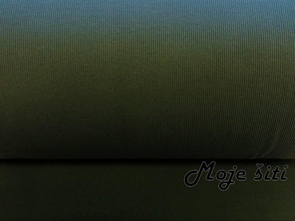 naplet zebro vojenska zelen