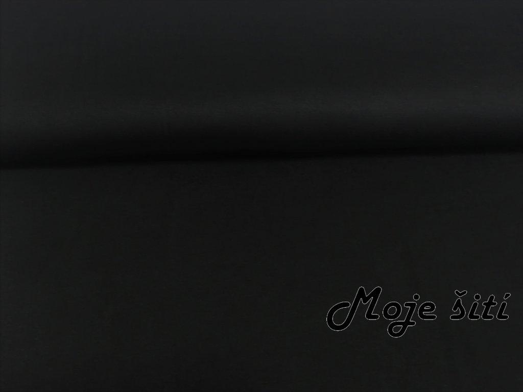 viskozový úplet černý