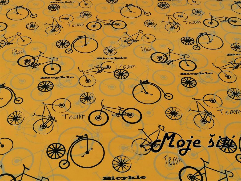 Bicykly na hořčicové