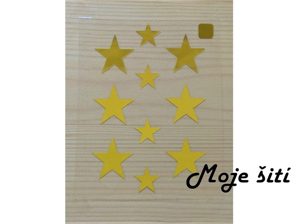 Zlate nazehlovaci obrazky hvezdicky