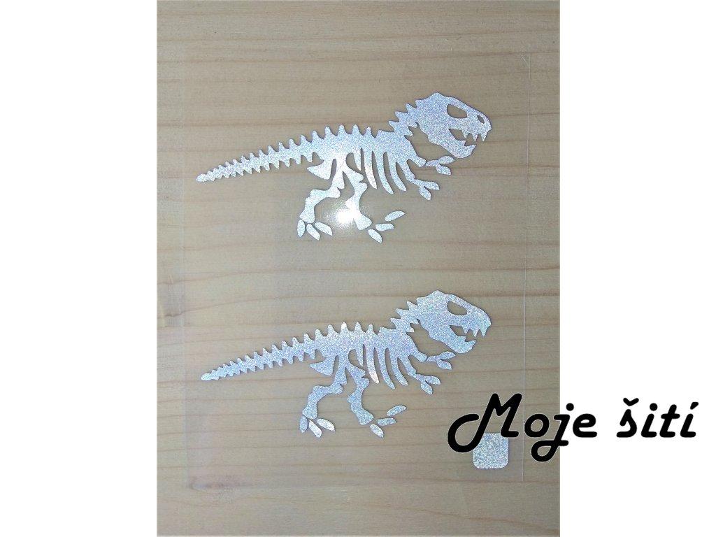 reflexni nazehlovaci obrazky kostra dinosaura 2