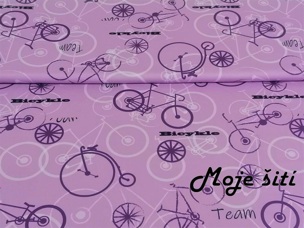 bicykl levandule