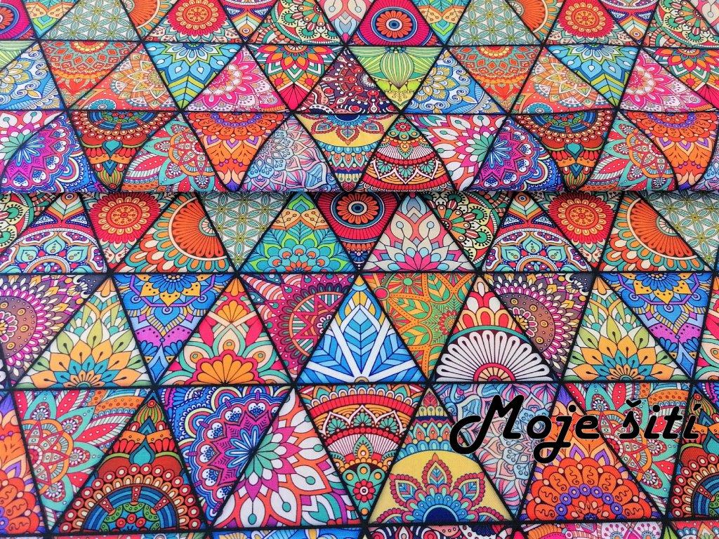 mandaly a trojuhelniky
