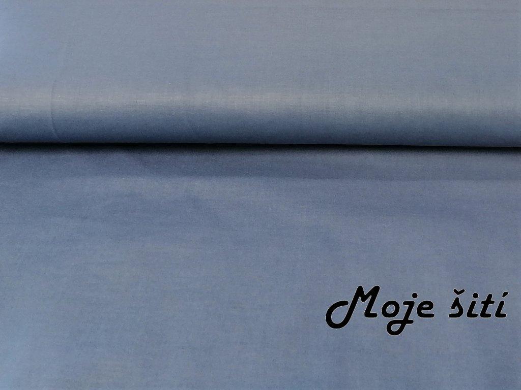 Bavlněné plátno Modrý Jeans