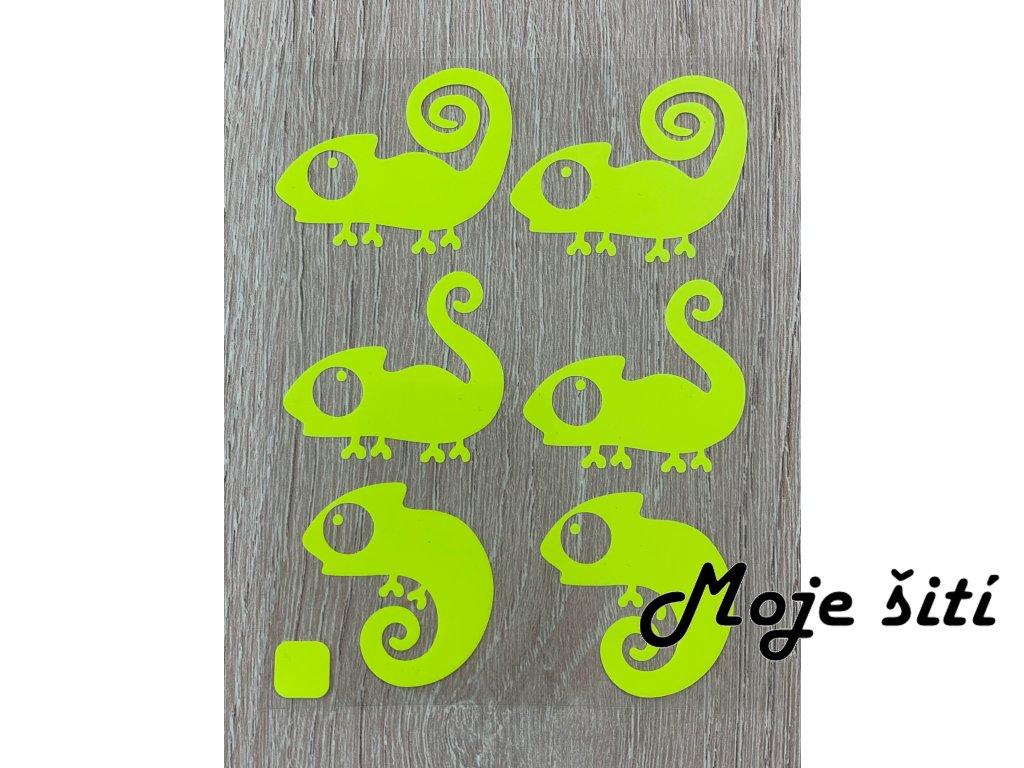 chameleoni neon zluta