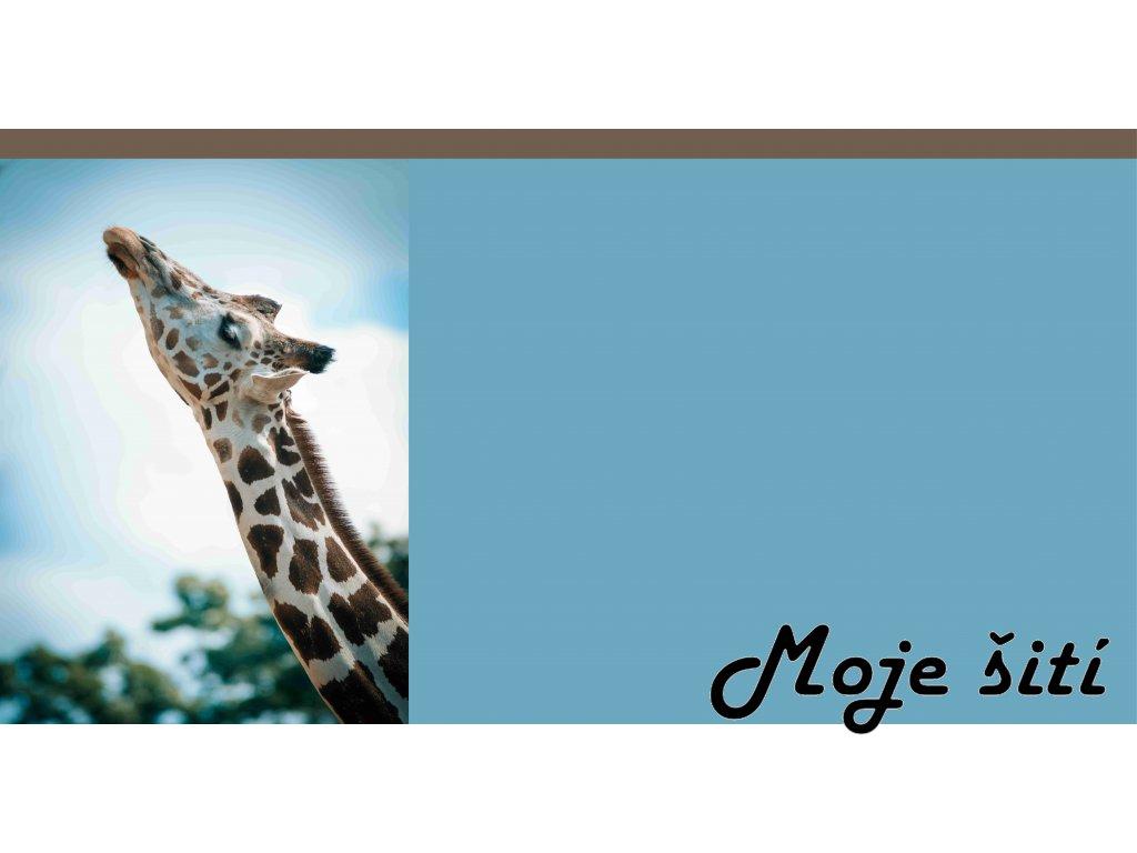 žirafa 55x75
