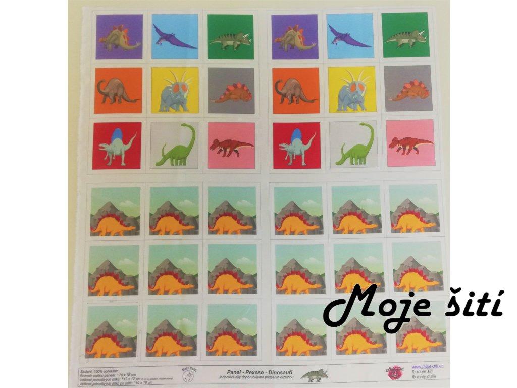 panel pexeso dinosauři (2)