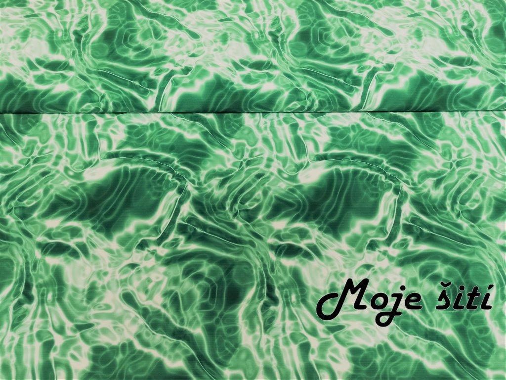 Zimní softshell Smaragdový oceán