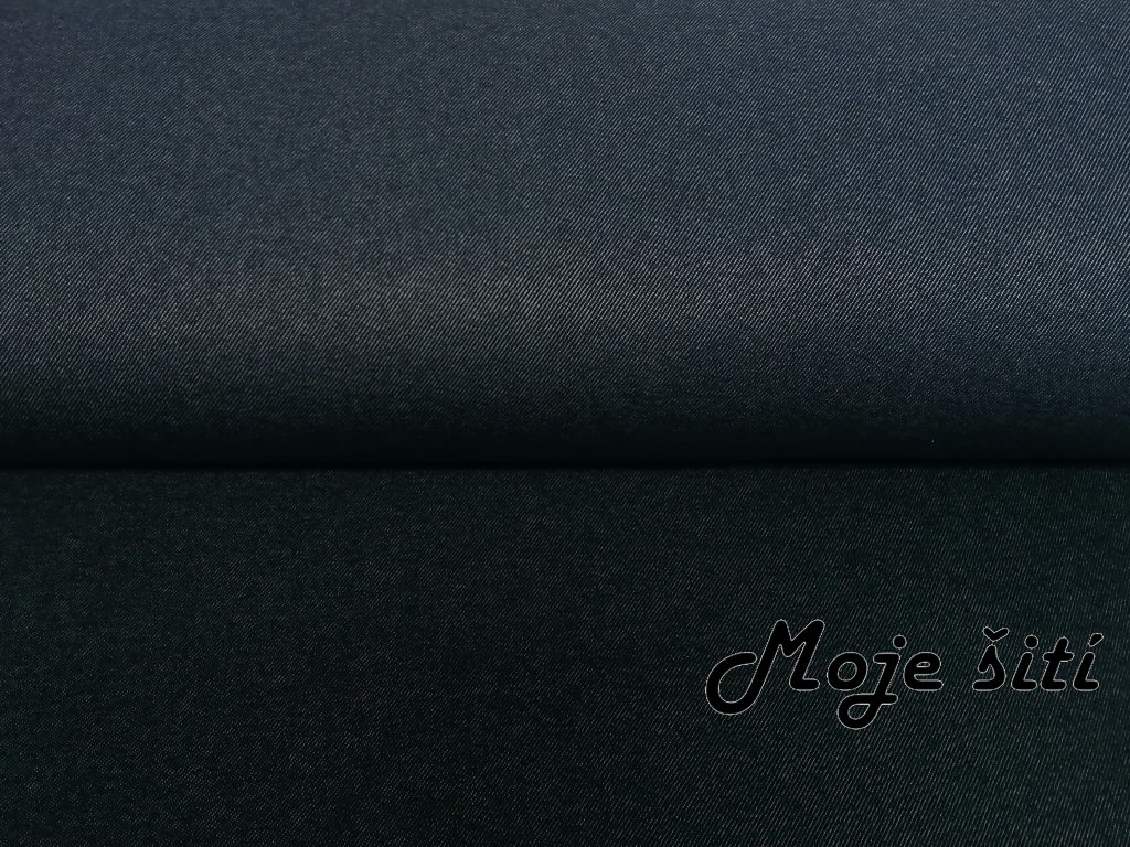 Alpenfleece Modrý jeans