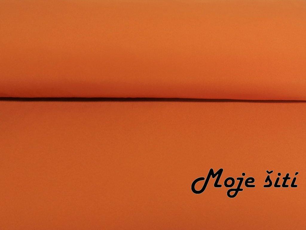 Zimní softshell Oranžový