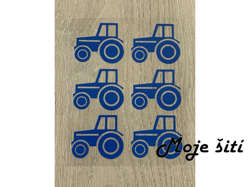 traktory modre