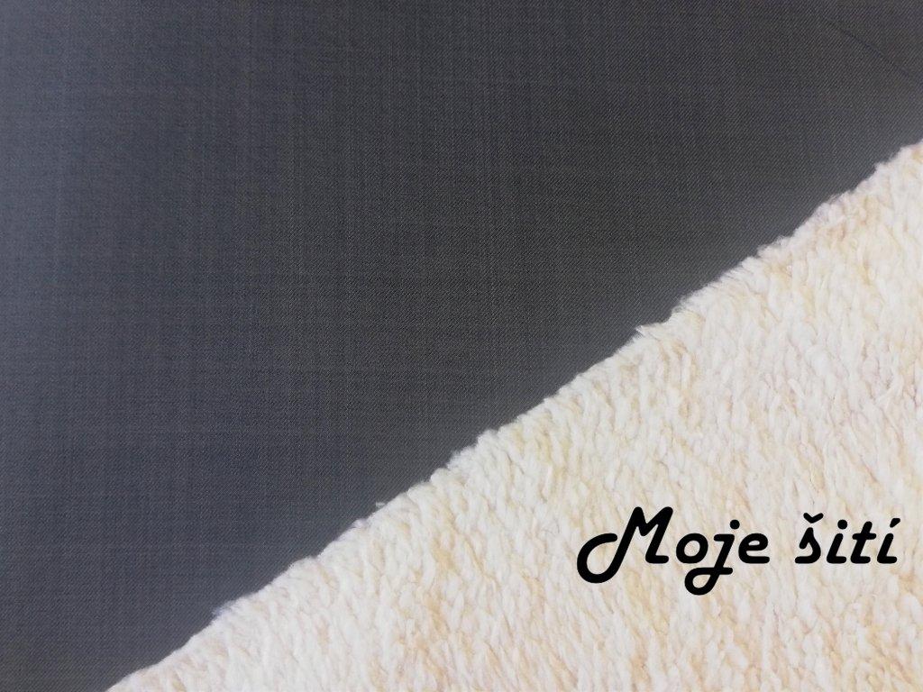 softshell s beránkem šedý grafit (2)