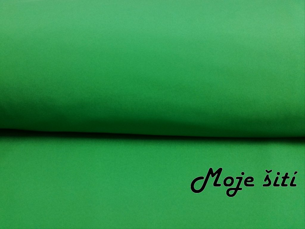 Zimní softshell Zelený