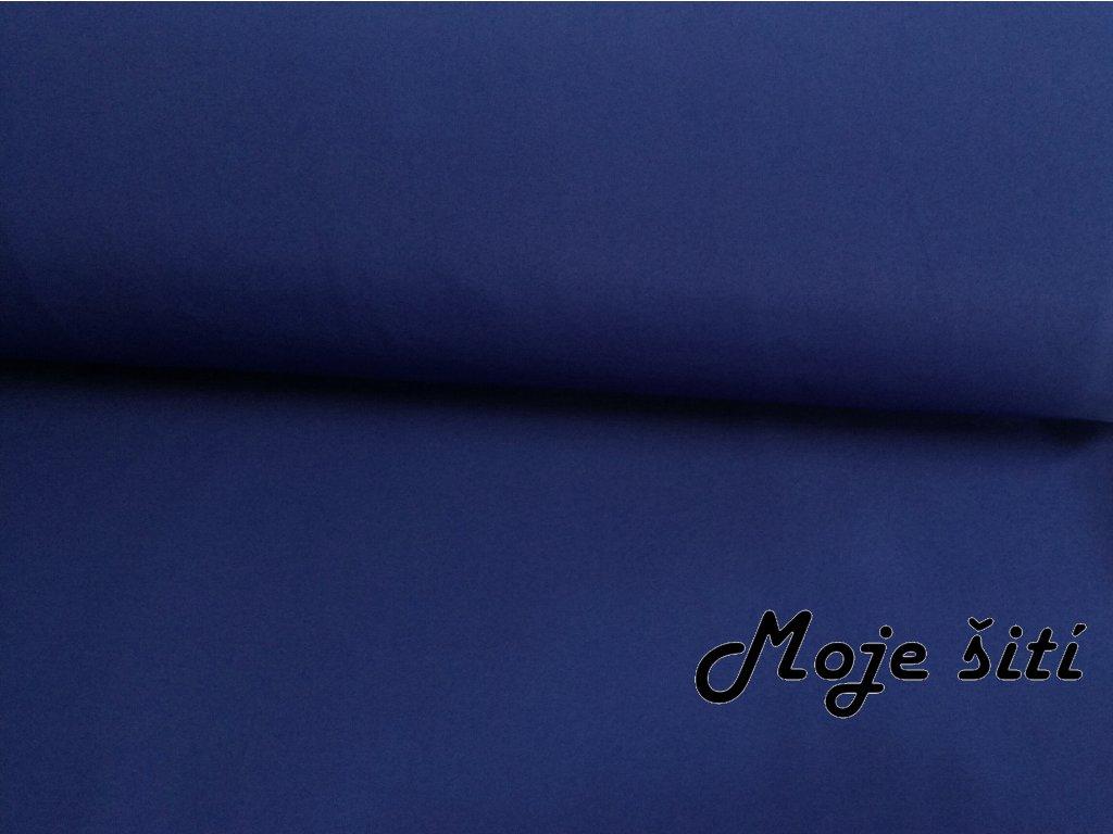 Zimní softshell Královsky modrý
