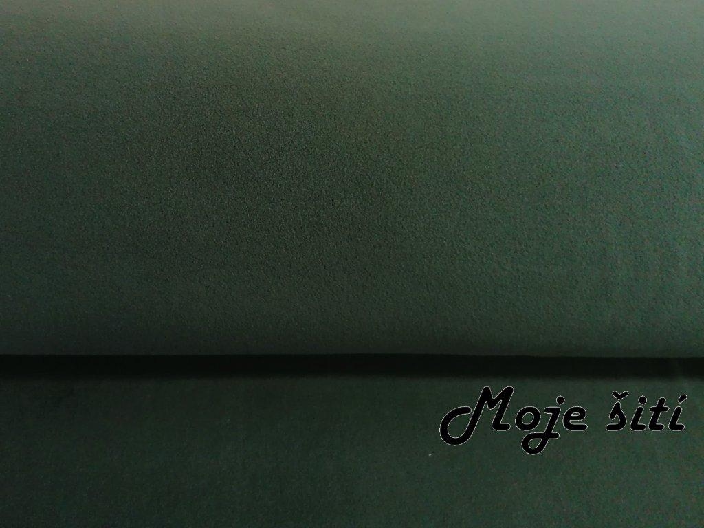 Microfleece Lahvově zelený