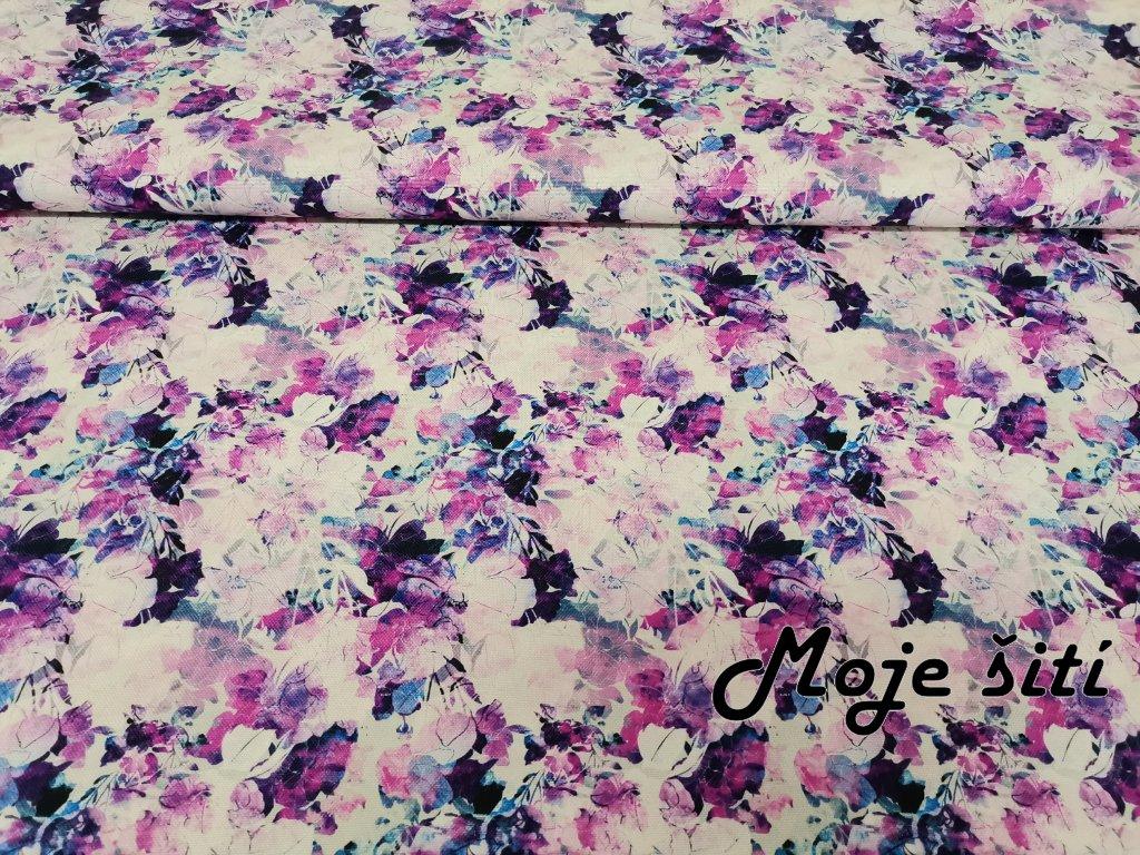 Kočárkovina Akvarelové květy