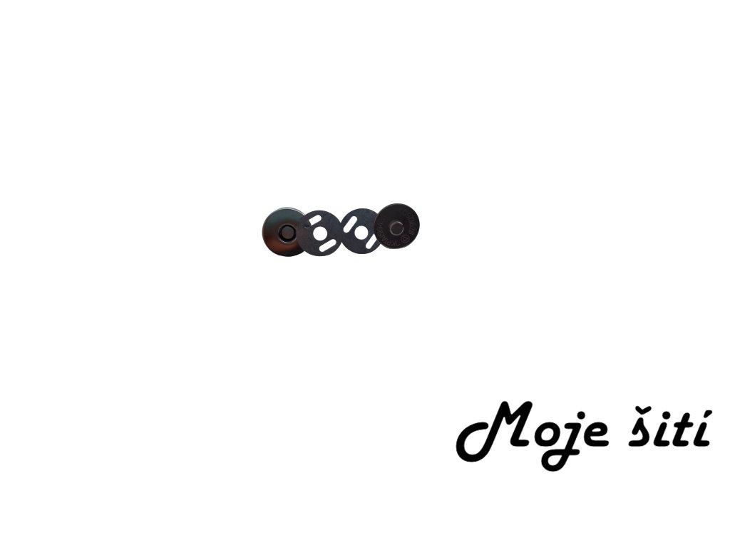 Magnetické zapínání 16 mm NIKL