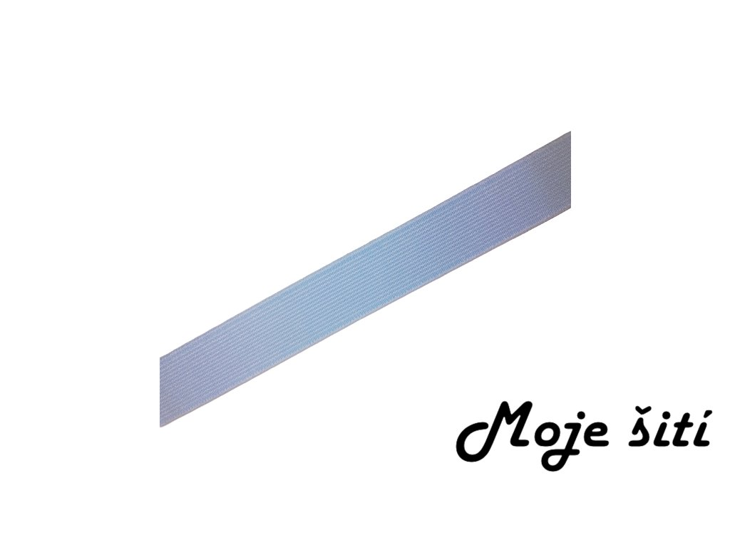 světle modrá pruženka 2cm