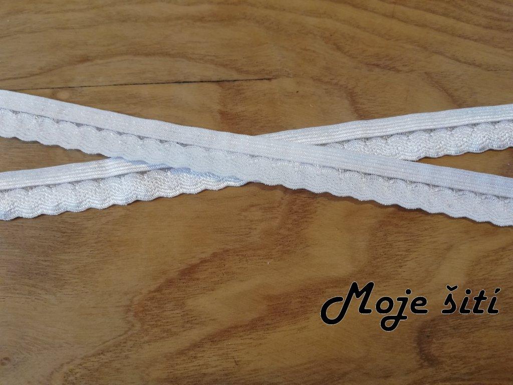 prádlová pruženka 14mm bílá (2)