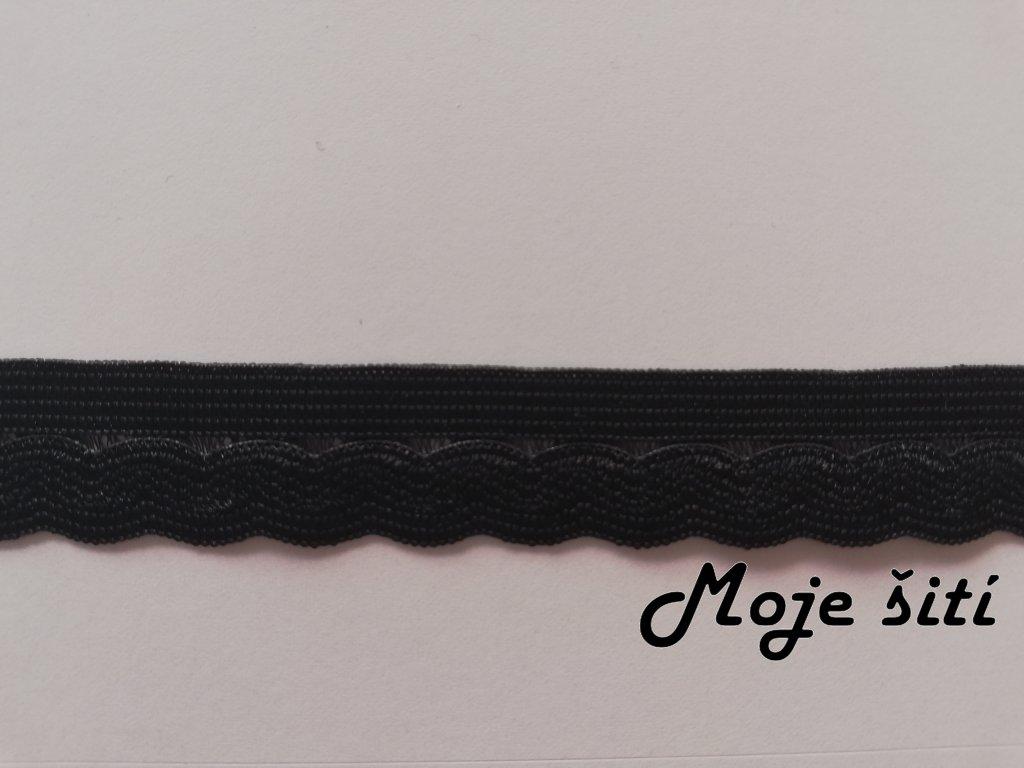 Pruženka prádlová 14mm černá