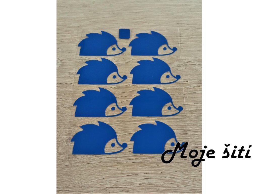 modří ježci 8 ks