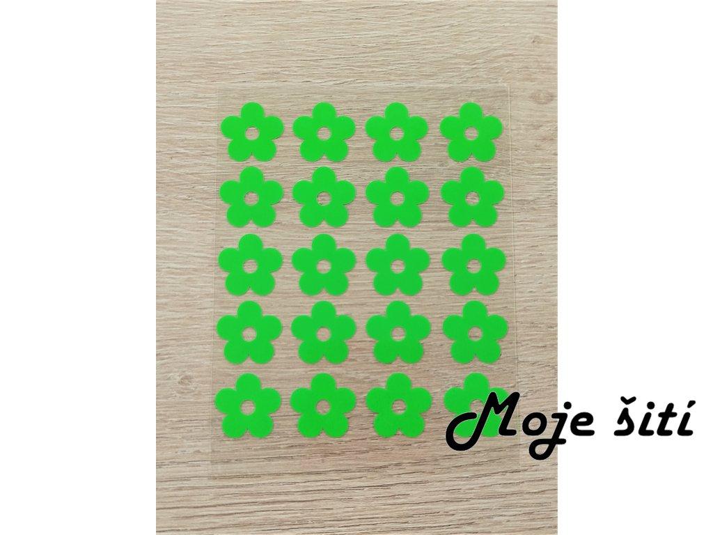 zelené kytičky 20 ks