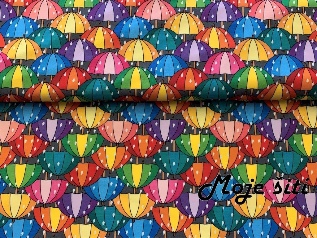 Kočárkovina Deštníky