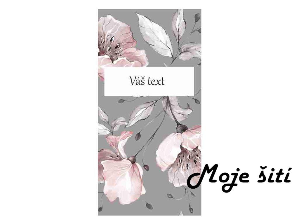 růže text