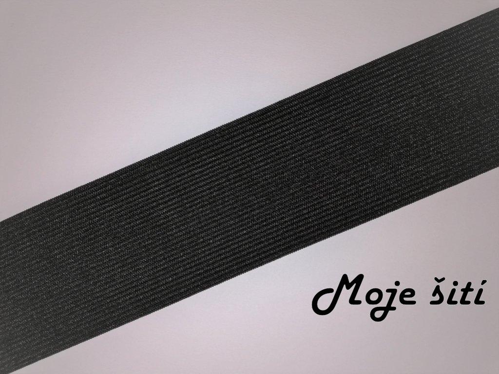 Pruženka černá 5cm