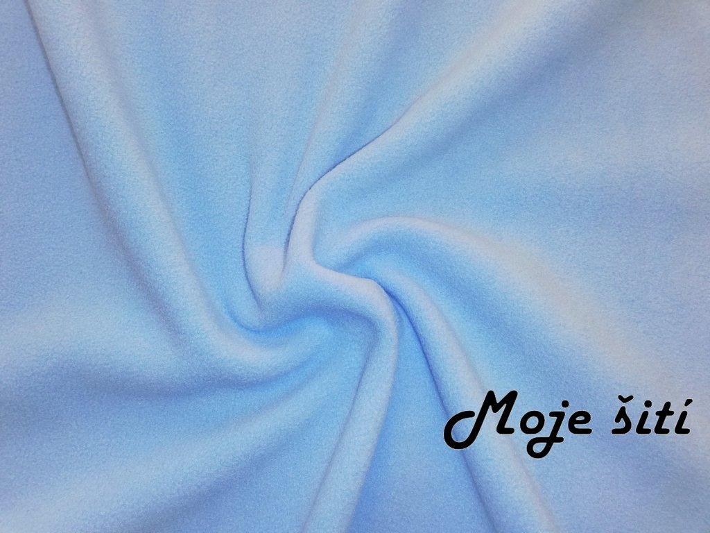 MicroFleece Světle modrý