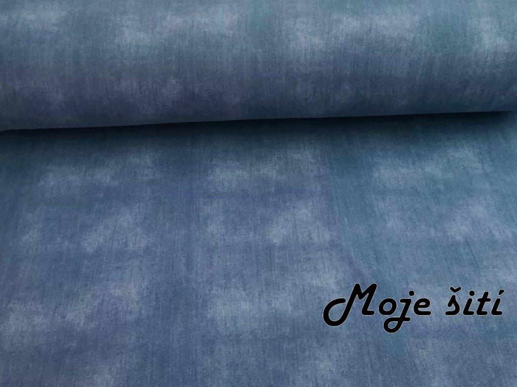 Světle modrý jeans