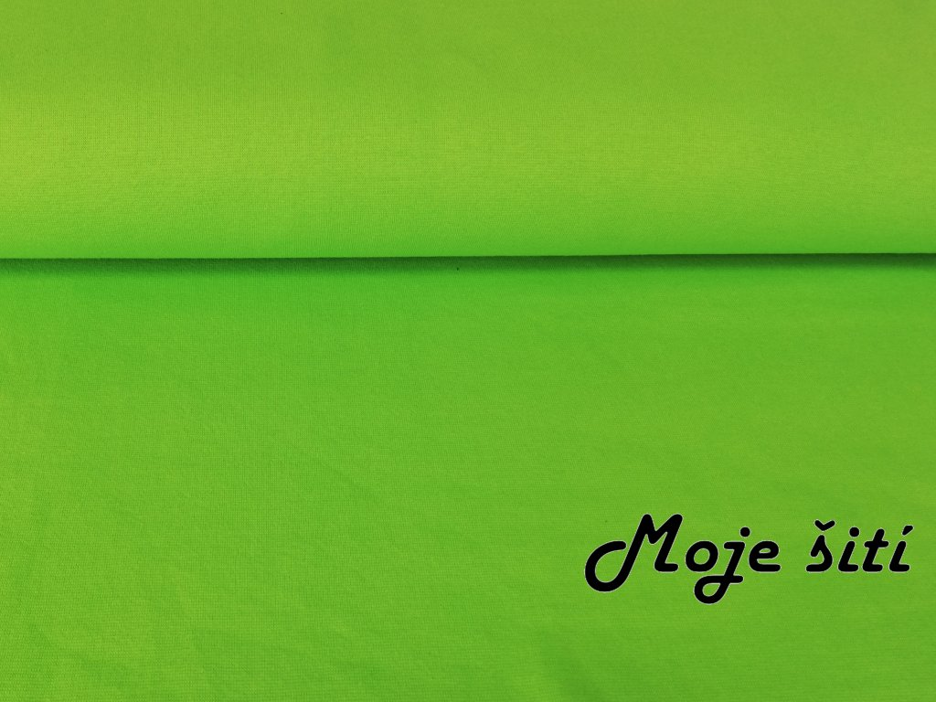 neon zelený
