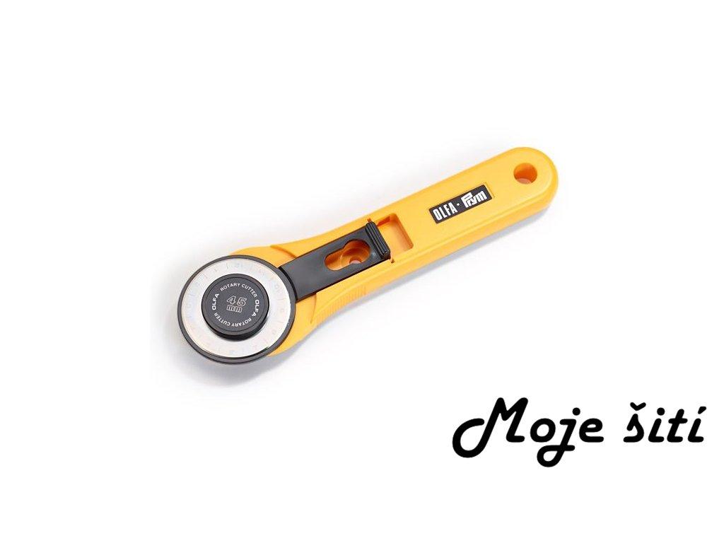 řezací kolečko olfa prym maxi prumer 45 mm