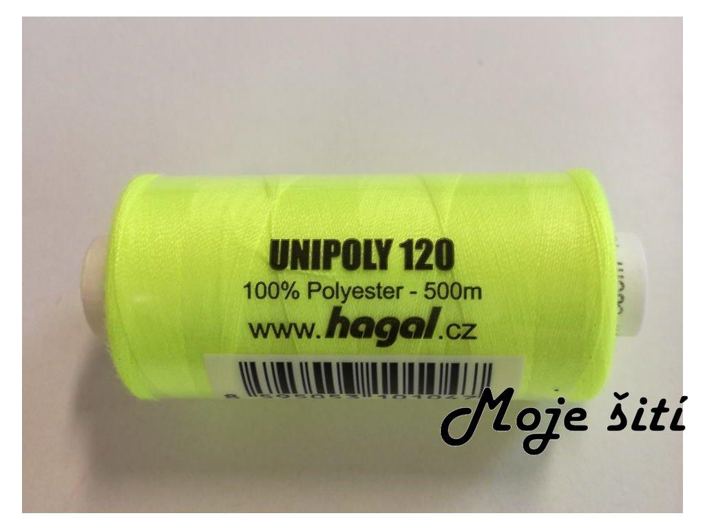 unipoly120 neonově žlutá