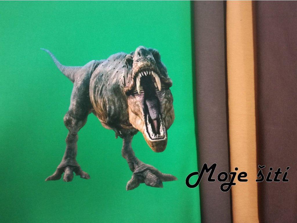 T Rex hnědá capu