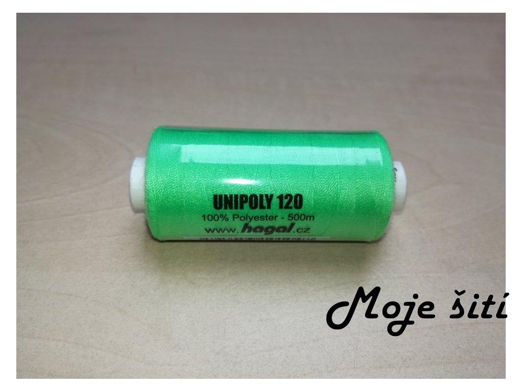 Unipoly 120 - 500m Světle zelená 622
