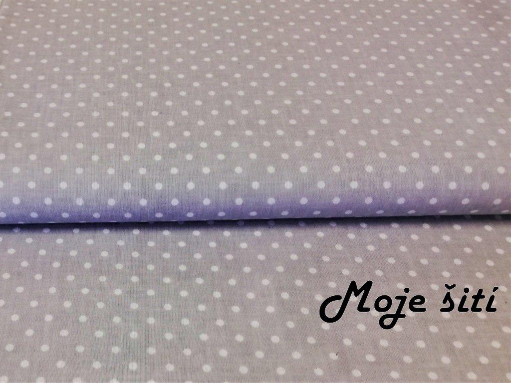 platno šedé puntíky (1)