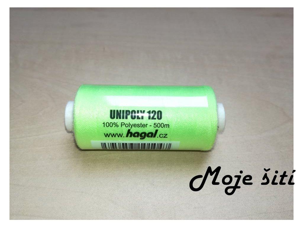 Unipoly 120 - 500m Světle zelenožlutá 612