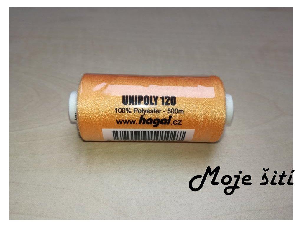 Unipoly 120 - 500m Světle oranžová 175