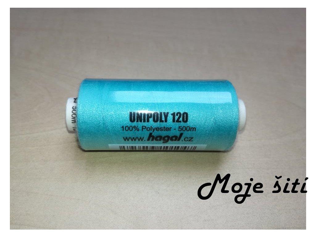 Unipoly 120 - 500m Světlý tyrkys 652