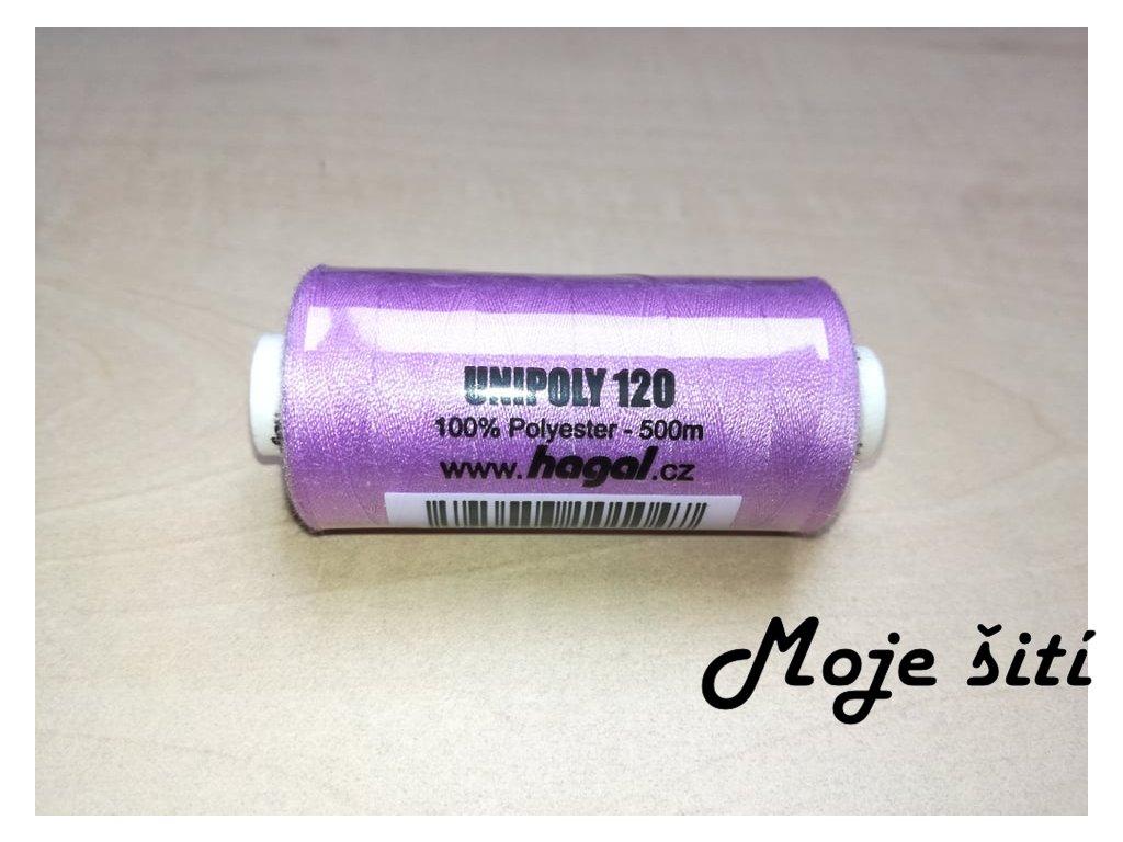 Unipoly 120 - 500m Světle fialová 443
